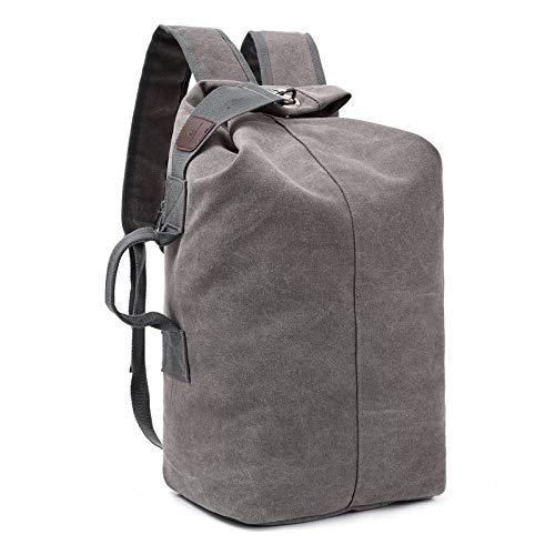 Wanderrucksack 35L,Trekkingrucksack Mit Outdoorrucksack Für Klettern Camping Reiten Reisen Freizeit Für Manner Frauen,Grau