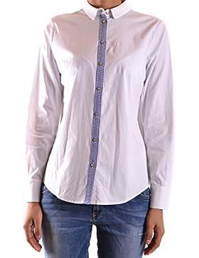 Liu Jo Mujer MCBI191432O Blanco Algodon Camisa