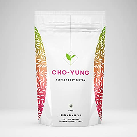 Cho-Yung Green Tea - Supports Healthy Weight Loss - 30 Tea Bags