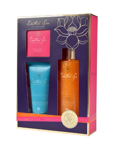 Grace Cole Exotic Retreat Gel douche 250 ml Lotion pour le corps 150 ml Savon 100 g