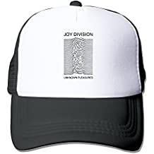 Black Joy Division Unknown Pleasures Cool sombrero gorra Negro, Negro