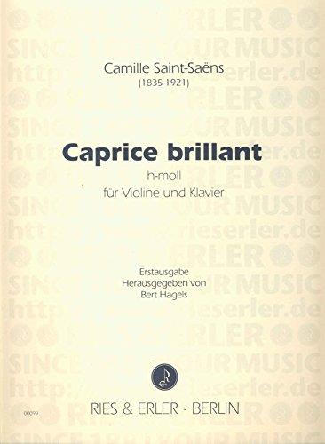 SAINT SAENS - Capricho Brillante en Si menor para Violin y Piano (Hagels)
