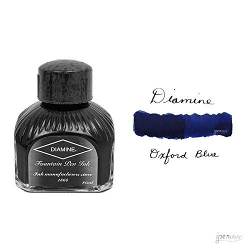 Diamine - Inchiostro per penna stilografica, Oxford Blue 80ml
