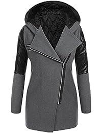 Suchergebnis auf Amazon.de für  Leder Parka Damen - Damen  Bekleidung 62be70fe3c