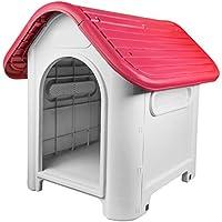 RayGar® Caseta de plástico para perro o gato, resistente a la intemperie, para