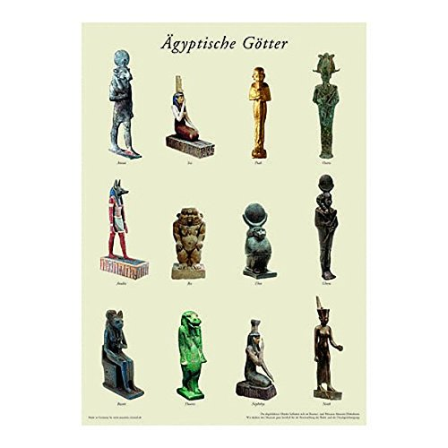 Ägyptische Götter - Poster