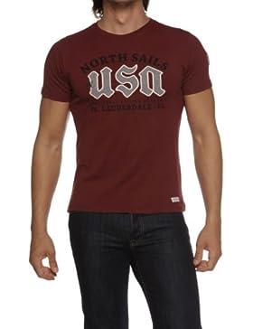 North Sails Herren Shirt Logo-T-Shirt LAUDERDALE