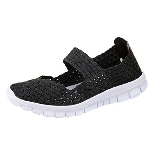 Donna Scarpe da Ginnastica Sportive Offerta Sneakers Running Basse Basket Sport Outdoor Fitness Respirabile Mesh Scarpe Sneaker Elastico Tessuto Leggero da Donna Slip On Sport Water Shoess