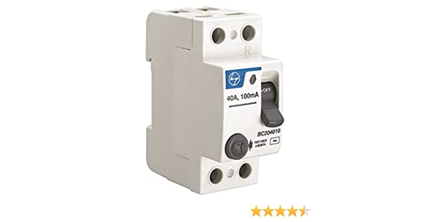 Direct sales plastic case earth leakage circuit breaker 4p three phase four wire earth leakage protection device residual current operated circuit breaker-4P 100A