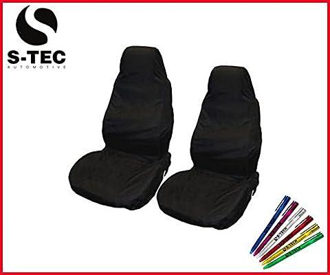 Honda Prelude 96–01–Technologie S-tech avant Heavy Duty Noir Housses de siège protecteurs 1+ 1résistant à l'eau | gratuit Technologie S-tech Pen