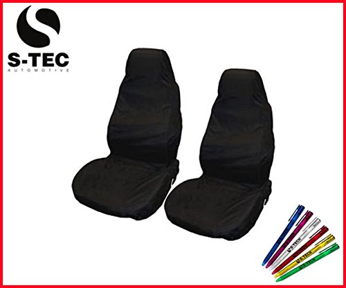 cadillac-sts-s-tech-front-heavy-duty-black-seat-covers-protectors-1-1-water-resistant-free-s-tech-pe