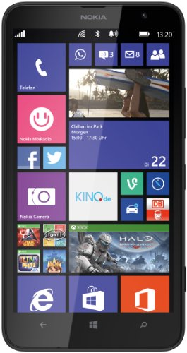 Nokia Lumia 1320 Smartphone (6 Zoll (15,2 cm) Touch-Display, 8 GB Speicher, Windows 8) schwarz (8 Phone Windows Nokia)