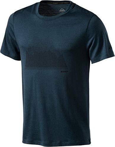 McKINLEY H-T-Shirt Korrum Blue Petrol. - XL