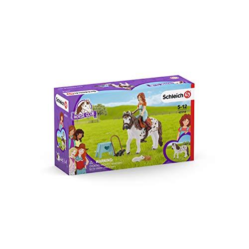 Club Zubehör (SCHLEICH 42518 Horse Club Mia & Spotty Spielfigur, Mehrfarbig)