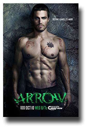 Arrow Poster TV Show Promo Shirtless Scar 27,9 x 43,2 cm