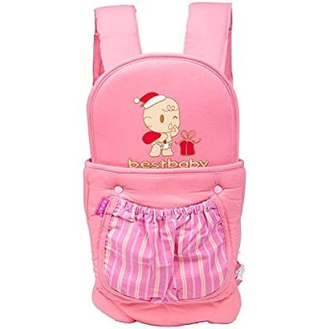 Bambino cinghia respirabile morbido cotone multifunzionale regolabile Comfort spalla zaino del bambino cinghie