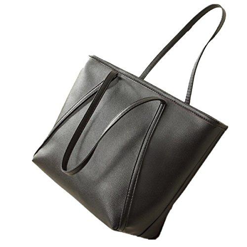 Yy.f Nuova Grande Trend Bag Tracolla Creativa. Mano Retrò Borse Moda Minimalista Per Il Tempo Libero Borsa Selvaggia. 3 Colori Black