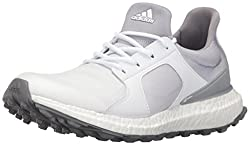 adidas Women s W Climacross Boost Ftwwht Golf Shoe White 6 B(M) US