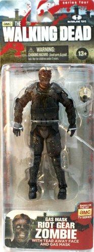 Mc Farlane - Figurine - The walking Dead - Série TV Riot Police Masque Zombie (Riot Serie)