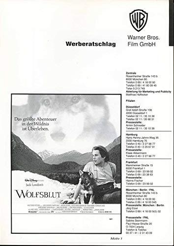 Wolfsblut - Werberatschlag (WB)