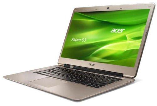 Acer Aspire S3 Ultrabook 3rd Gen i5 500GB + 16GB SSD 8GB RAM WINDOWS 8