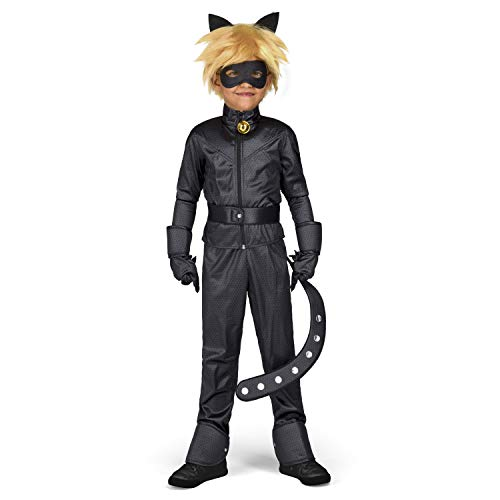 My Other Me Yiija Fast Fun - Kostüm Cat Noir (Viving Costumes) 9-11 años - Gute Kostüm Kinder