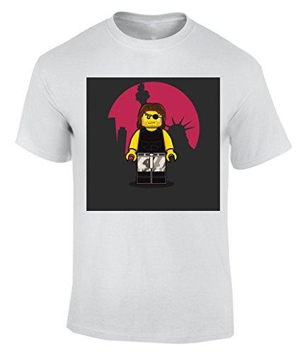 Lego cartoon T-Shirt Herren Weiß