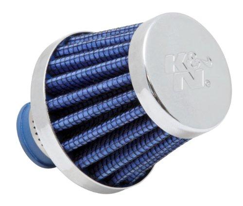 K & N 62-1600BL Luftfilter ° Vent Air Filter/Entlüfter 3/8-1/2ID flg X 5,1cm OD B x 1-3/4H x 3,8cm TP CR (Universal Air Filter) -