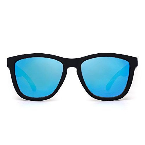 Gafas de Sol Retro Polarizadas Lente Reflexivo Espejo Anteojos Hombre Mujer