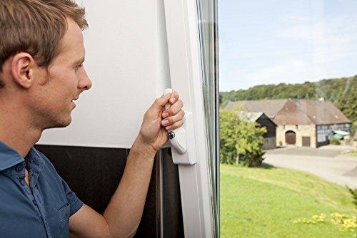 ABUS Fenstergriff-Schloss FO400A mit Alarm, gleichschließend, weiß, 33270 - 2