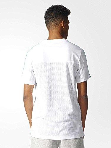 adidas Herren Los Angeles Trefoil T-Shirt White