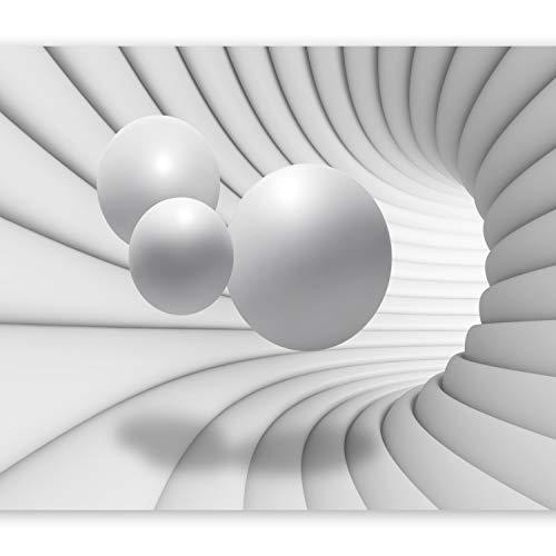 murando – Papier peint intissé 400x280 – Trompe l oeil – Tableaux muraux déco XXL – balle abstraction 3D a-A-0154-a-c