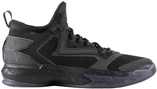 adidas D Lillard 2, Scarpe da Basket Uomo, D(M) US Core Black/Core Black/Core Black