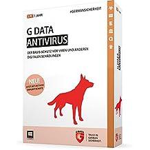 G DATA Antivirus 2015, 3u, 1Y, DE - Seguridad y antivirus (3u, 1Y, DE, Windows 7 Home Basic, Windows 7 Home Basic x64, Windows 7 Home Premium, Windows 7 Home Premium x64, , DEU, Caja, Win)