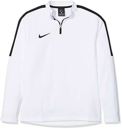 Nike Kinder Dry Academy Drill Top, White/Black, S -