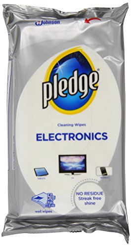Pledge Electronic Wipes (Pack of 8)