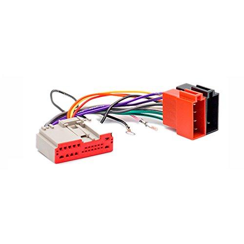 carav 12-135 ISO-F Radio Adapter für Fusion 2002-2005, Fiesta 2003-2005/ Freelander 2005 + Draht Verkabelung Anschluss führen Loom Kabel Plug Adapter Stereo Radio-draht