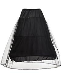 Topwedding Jupon pour Robe de Mariée Crinoline 2 Cerceaux Circonference 340cm