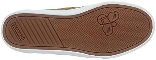 Hummel Slimmer Stadil Duo Oiled Low, Baskets Basses Mixte Adulte Beige (Fungi)