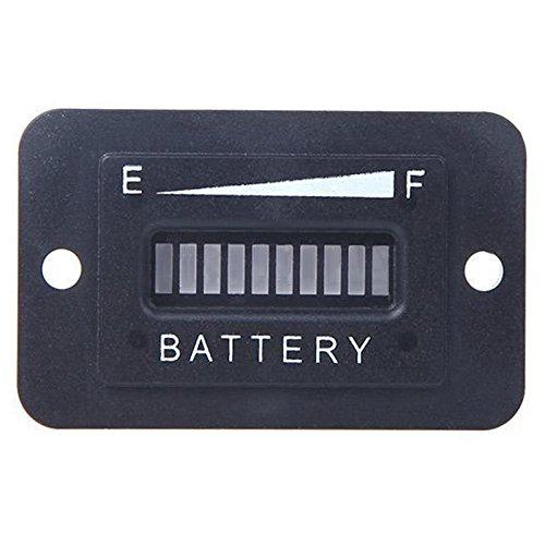 TOOGOO(R) Batteriestatus Ladeanzeige Monitor Messgeraet LED Digital 12V & 24V