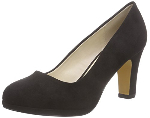 Another Pair of Shoes PatriciaaE2, Damen Plateau Pumps Schwarz (Black01)
