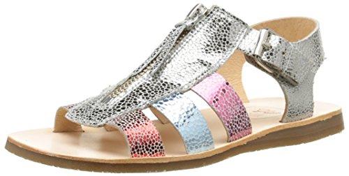 Yep by Jonak Bertille - Zapatos para Niñas, Color Beige (Laminée Taupe), Talla 35 Jonak