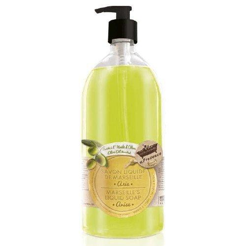 Savon liquide de marseille à l'huile d'olive anis 1 l