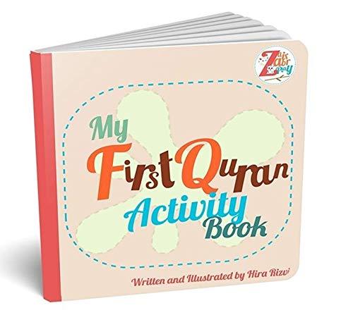 Zair Zabr Play My First Koran Activity Book: Muslim Kinderbuch
