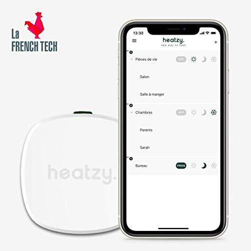 Heatzy - Contrôlez simplement votre chauffage électrique à distance.