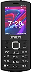 ZEN Atom 201 Dual SIM Feature Phone (Red)