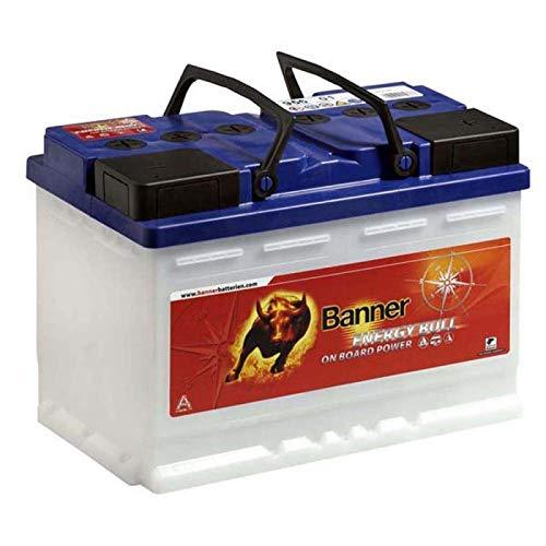 Batterie decharge lente camping car, bateau, solaire Banner 95501 12v 60ah