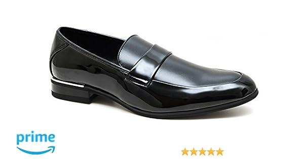 AK collezioni Mocassini uomo class nero eleganti scarpe man s shoes  cerimonia  Amazon.it  Abbigliamento fbd302bb547