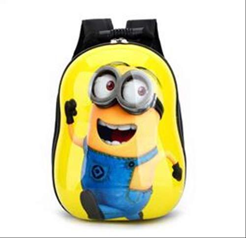 QINGT Schultasche Kinderschultaschen Für Mädchen & Jungen Kinderrucksack Kinderbuchtasche SchultaschenGelb (Rucksack Star Roller Wars)