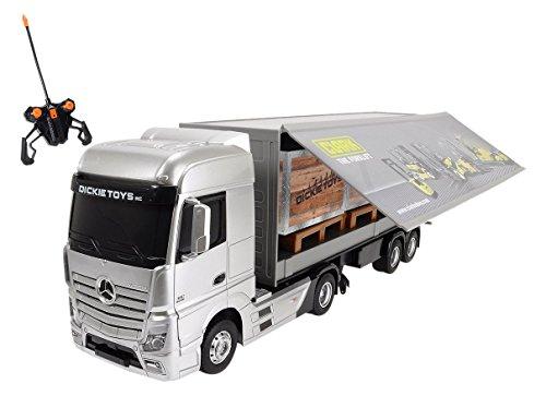 Preisvergleich Produktbild Dickie Toys 201119884 - RC Mercedes-Benz Actros, funkferngesteuerter LKW inklusive Batterien, 49 cm